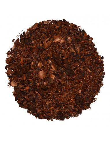 Natural chocolate-vanilla cocoa tea