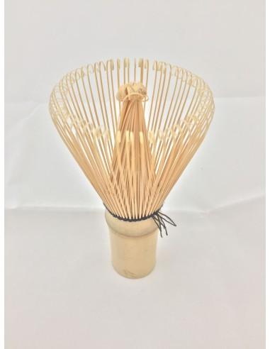 Bamboo whisk brush for matcha tea