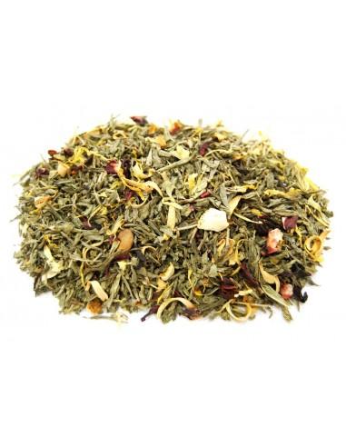 Sencha Tea Desteinado Orange Juice