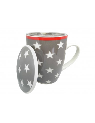 Cup decorated stars