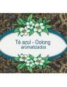 Blue tea - flavoured oolong